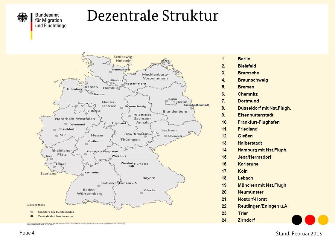 Dezentrale Struktur A Berlin Bielefeld Bramsche Braunschweig Bremen