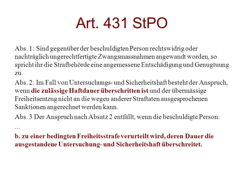 Art. 431 StPO