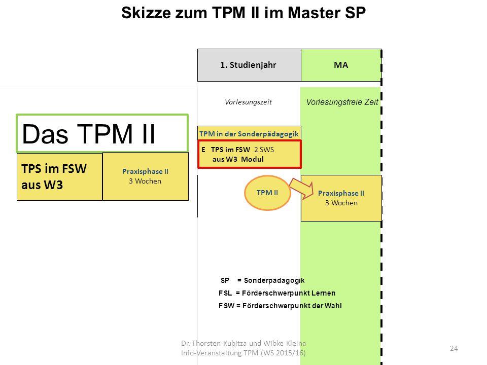 Skizze zum TPM II im Master SP