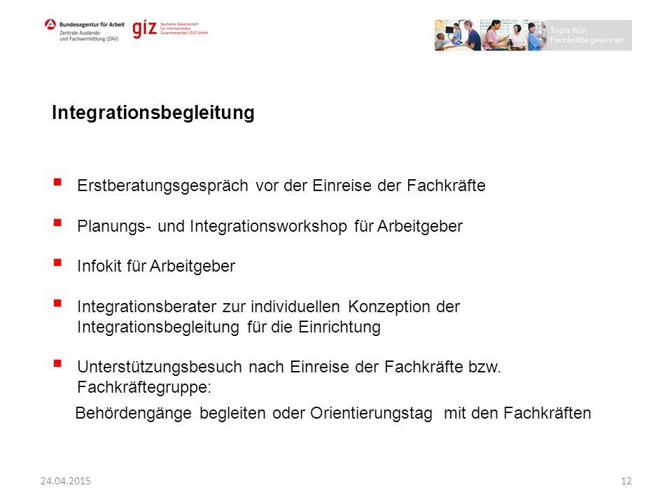 Integrationsbegleitung