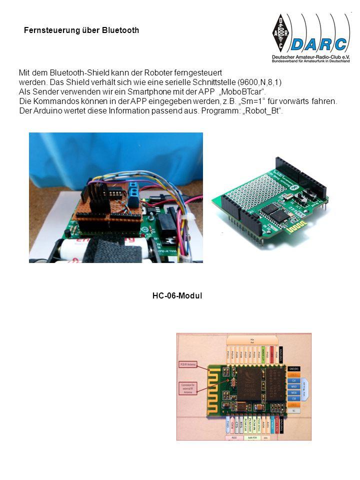Fernsteuerung über Bluetooth