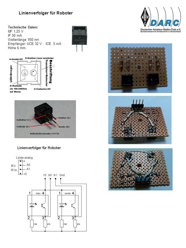 Linienverfolger für Roboter