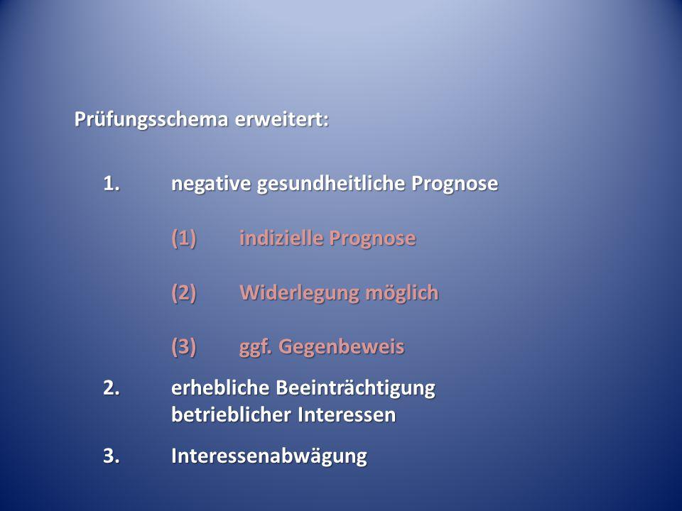 Prüfungsschema erweitert: