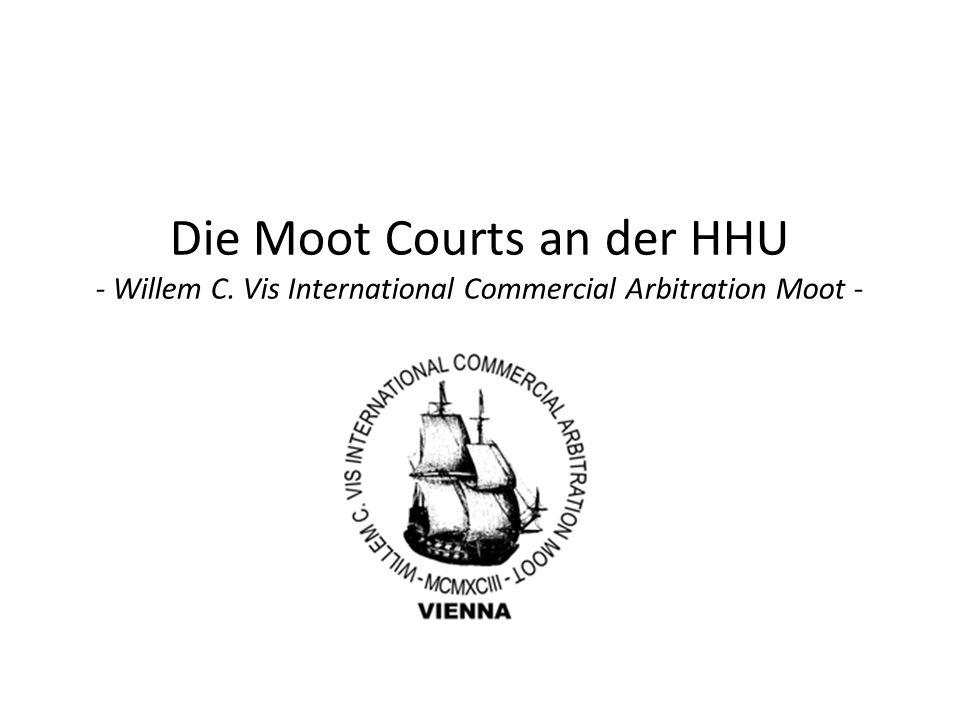 Die Moot Courts an der HHU - Willem C