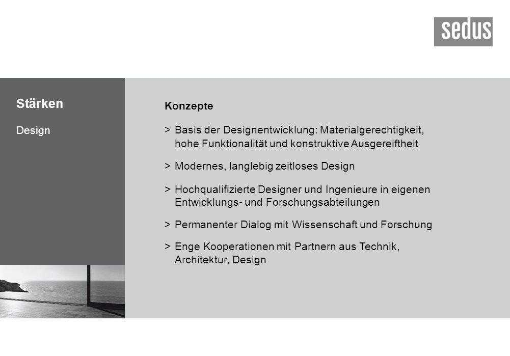 Stärken Konzepte Design