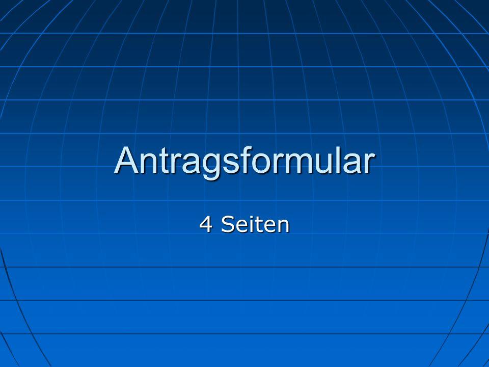 SPF SPF 26.10.10 26.10.10 Antragsformular 4 Seiten 17