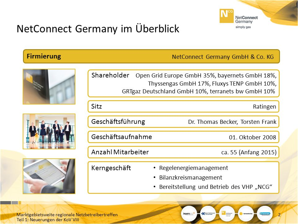 NetConnect Germany im Überblick