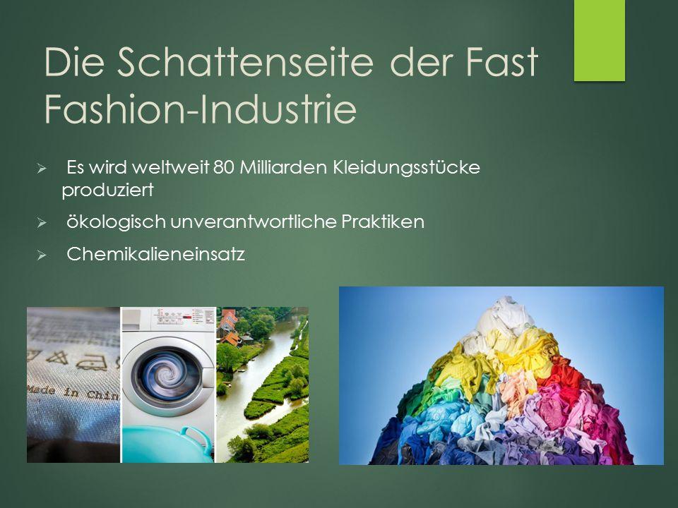 Die Schattenseite der Fast Fashion-Industrie