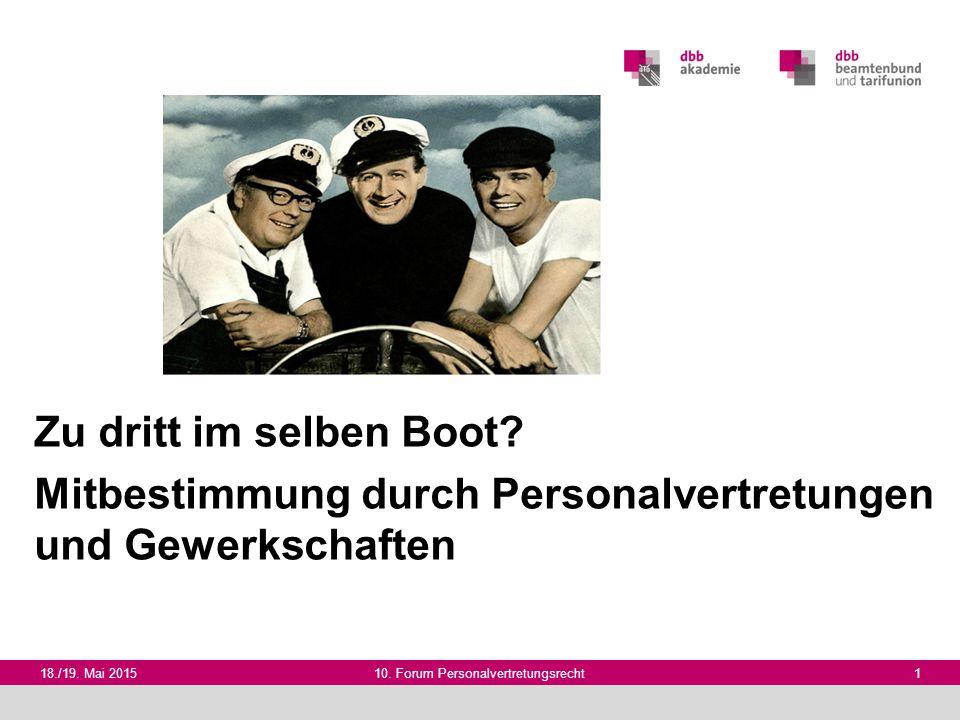 10. Forum Personalvertretungsrecht