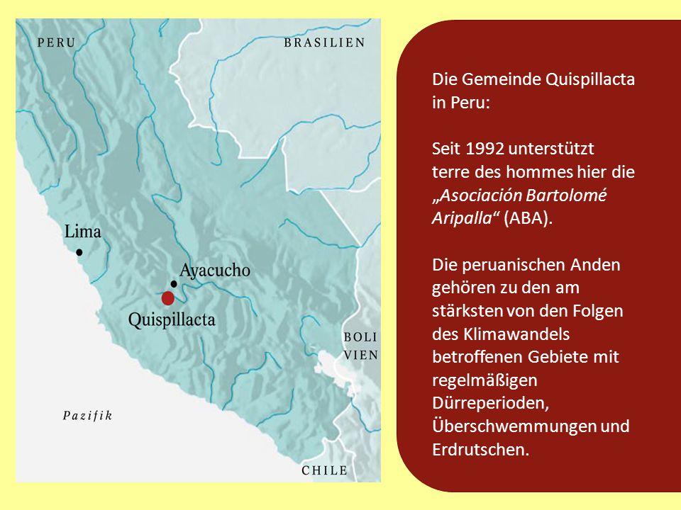 Die Gemeinde Quispillacta in Peru: