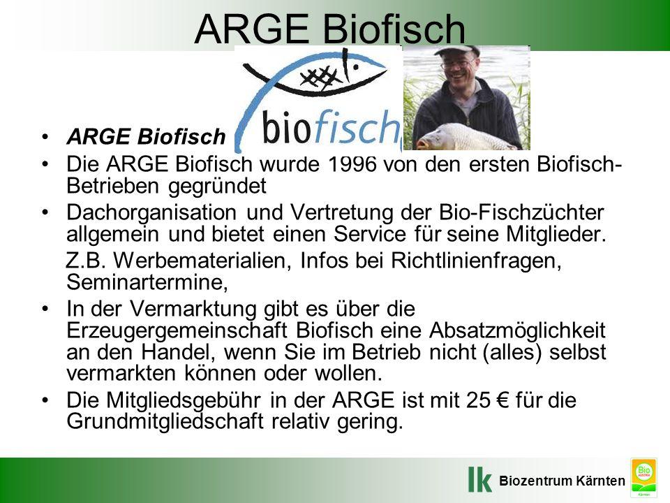 ARGE Biofisch ARGE Biofisch