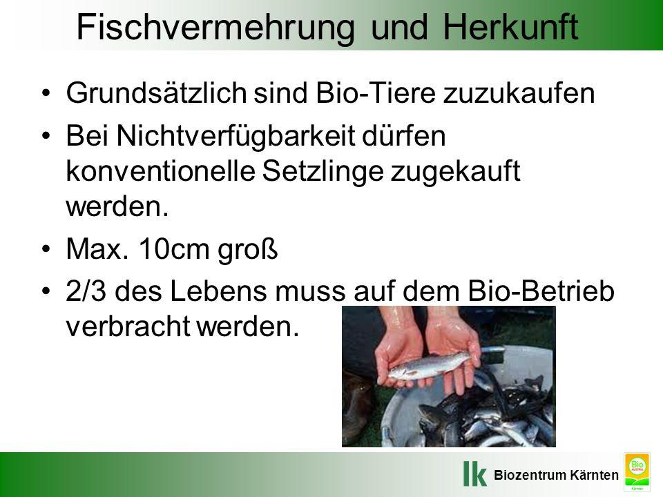 Fischvermehrung und Herkunft