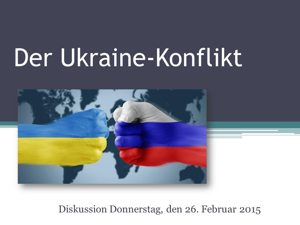 Diskussion Donnerstag, den 26. Februar 2015