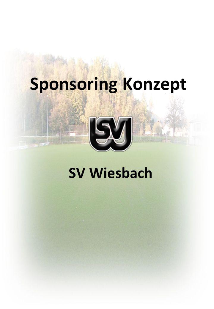 Sponsoring Konzept SV Wiesbach