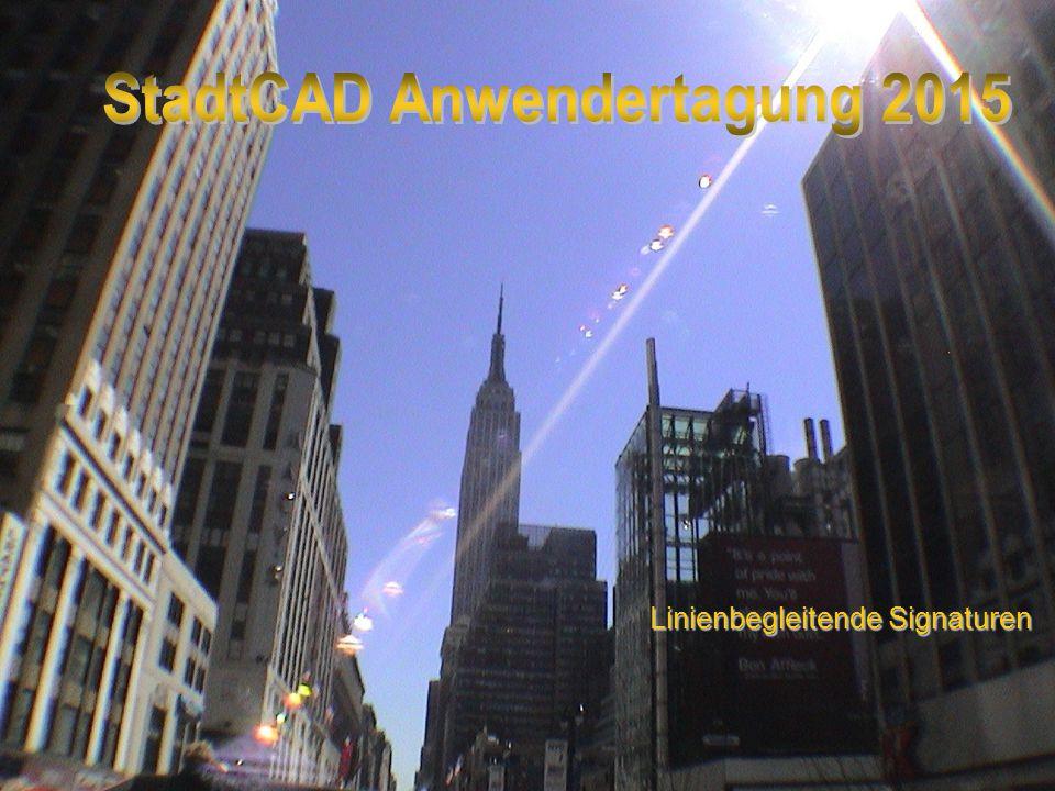 StadtCAD Anwendertagung 2015