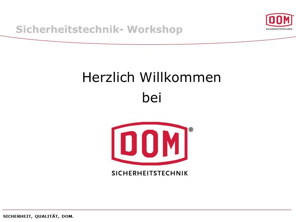 Herzlich Willkommen bei Sicherheitstechnik- Workshop