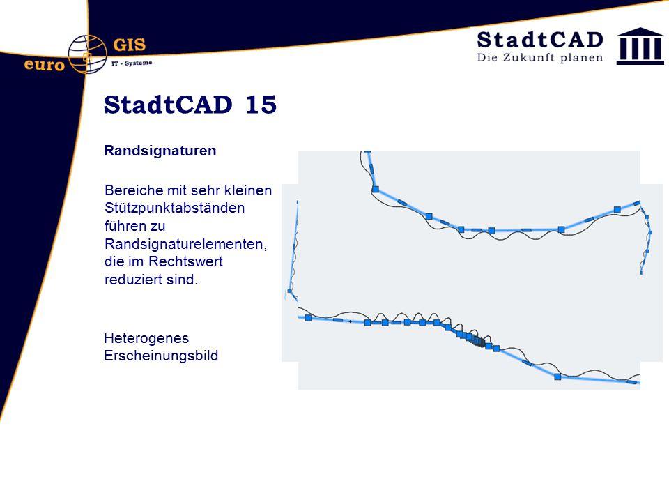 StadtCAD 15 Randsignaturen