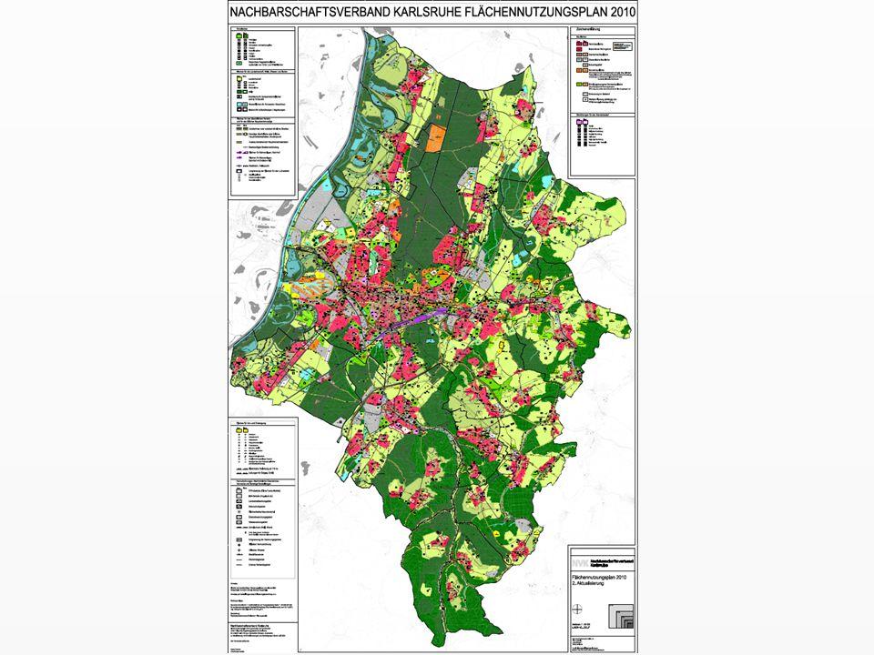 Flächennutzungsplan Nachbarschaftsverband Karlsruhe