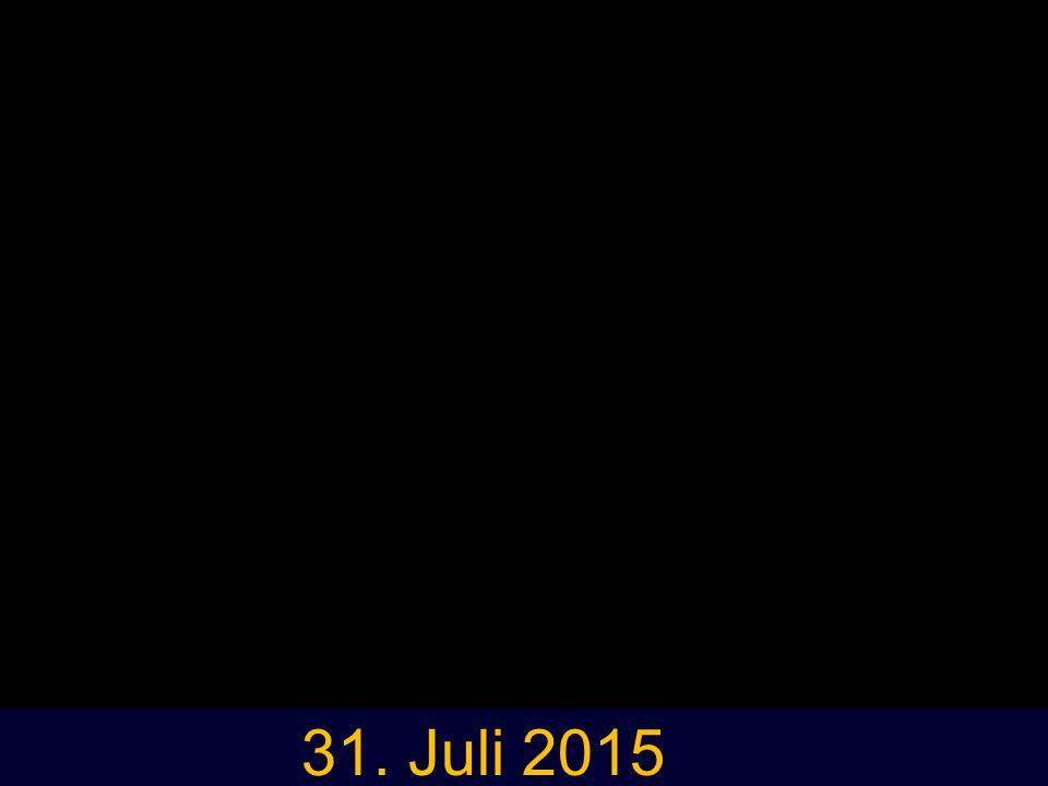 Freigabe 31. Juli 2015