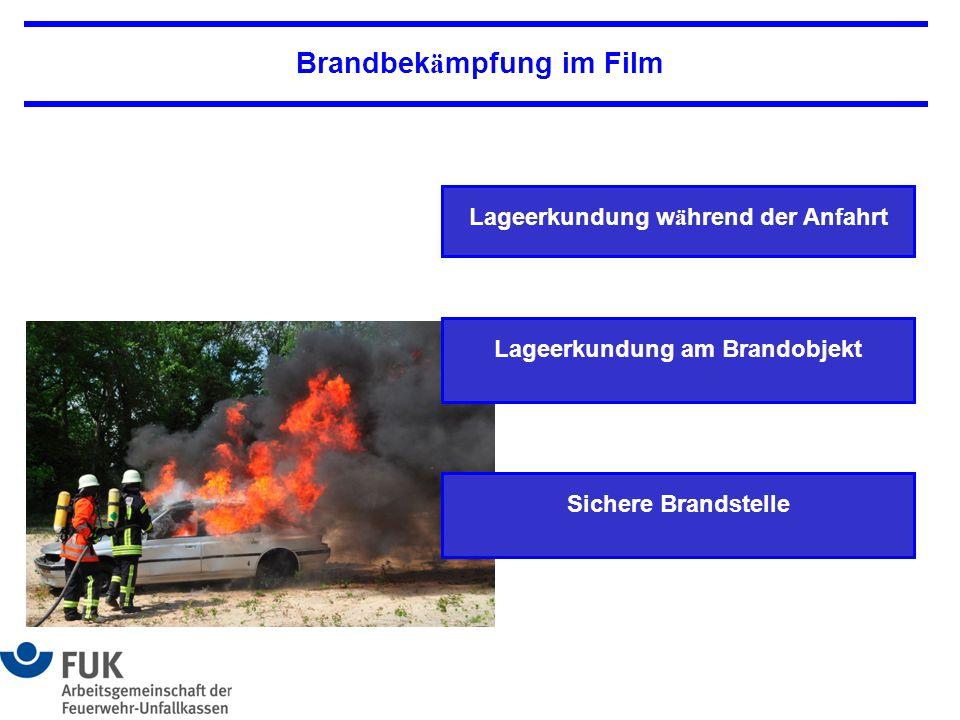Brandbekämpfung im Film
