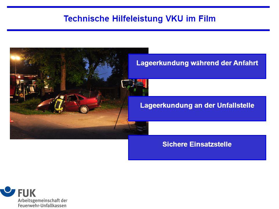 Technische Hilfeleistung VKU im Film