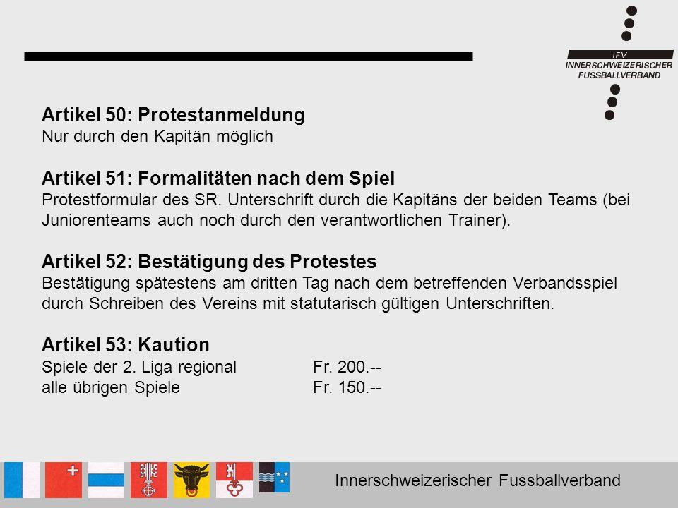 Artikel 50: Protestanmeldung