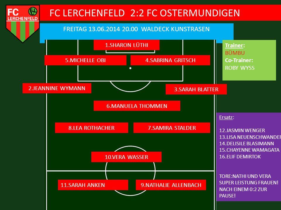 FC LERCHENFELD 2:2 FC OSTERMUNDIGEN