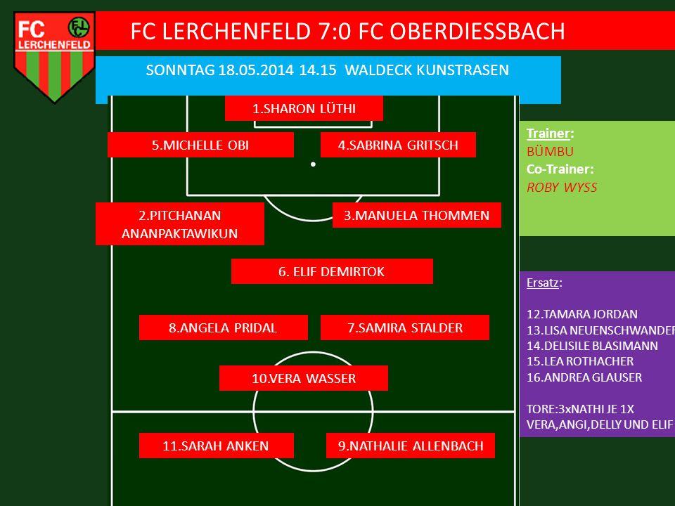 FC LERCHENFELD 7:0 FC OBERDIESSBACH