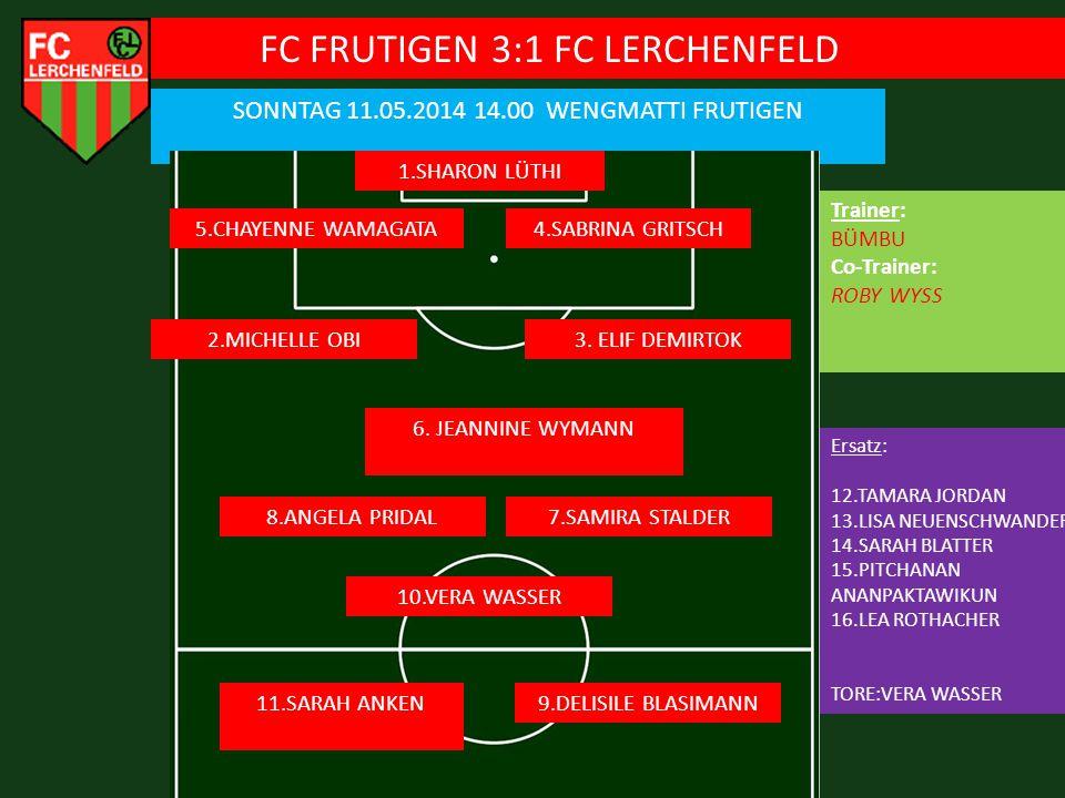 FC FRUTIGEN 3:1 FC LERCHENFELD