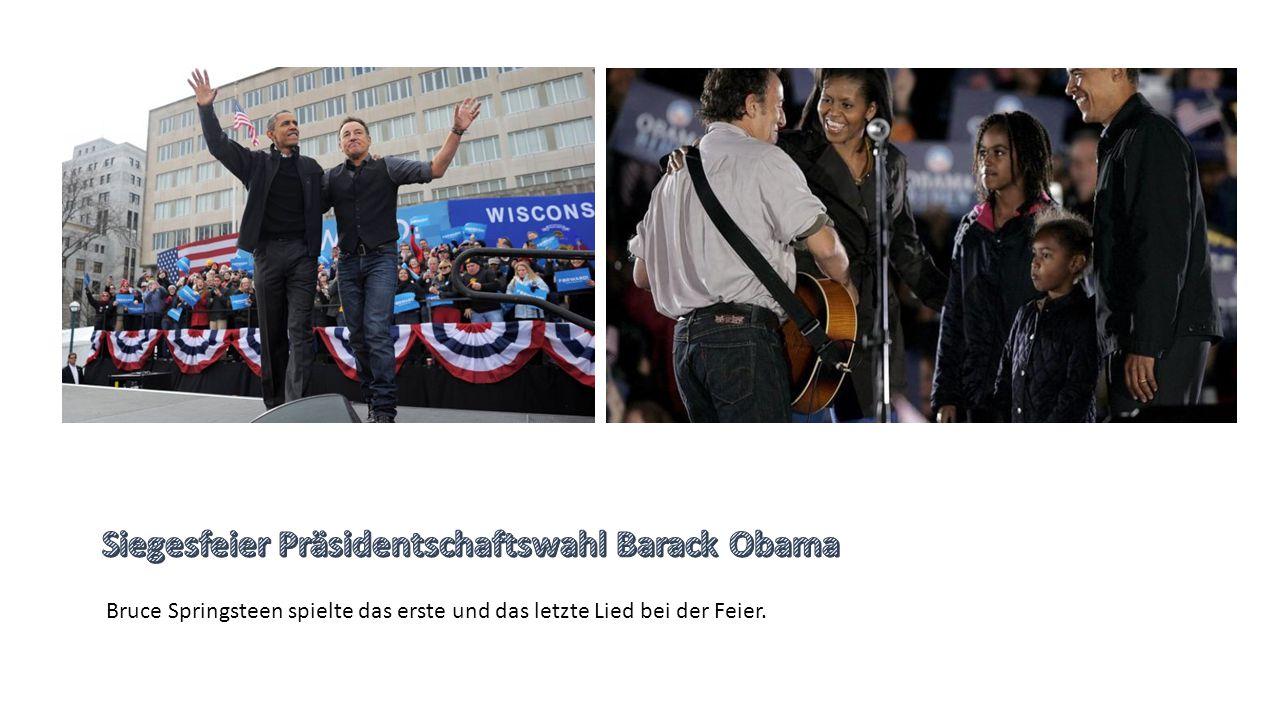 Siegesfeier Präsidentschaftswahl Barack Obama