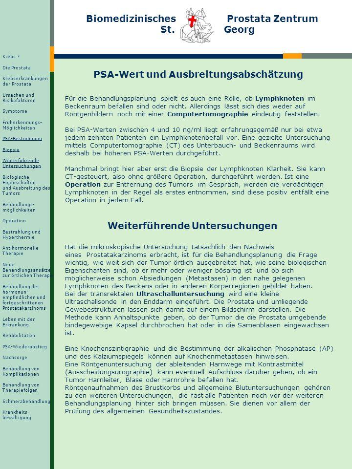 PSA-Wert und Ausbreitungsabschätzung
