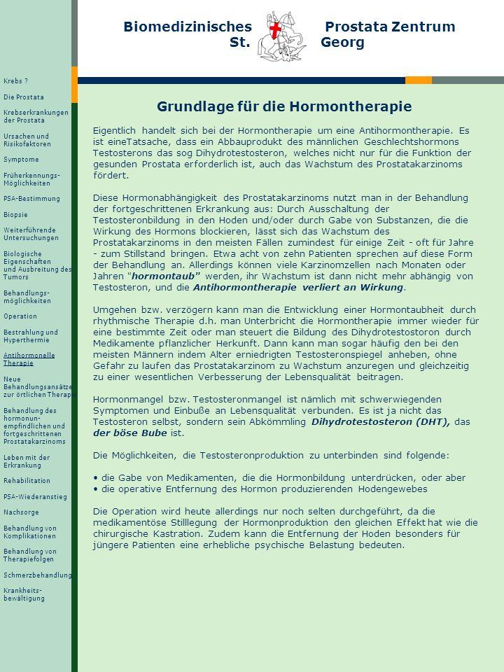 Antihormonelle Therapie