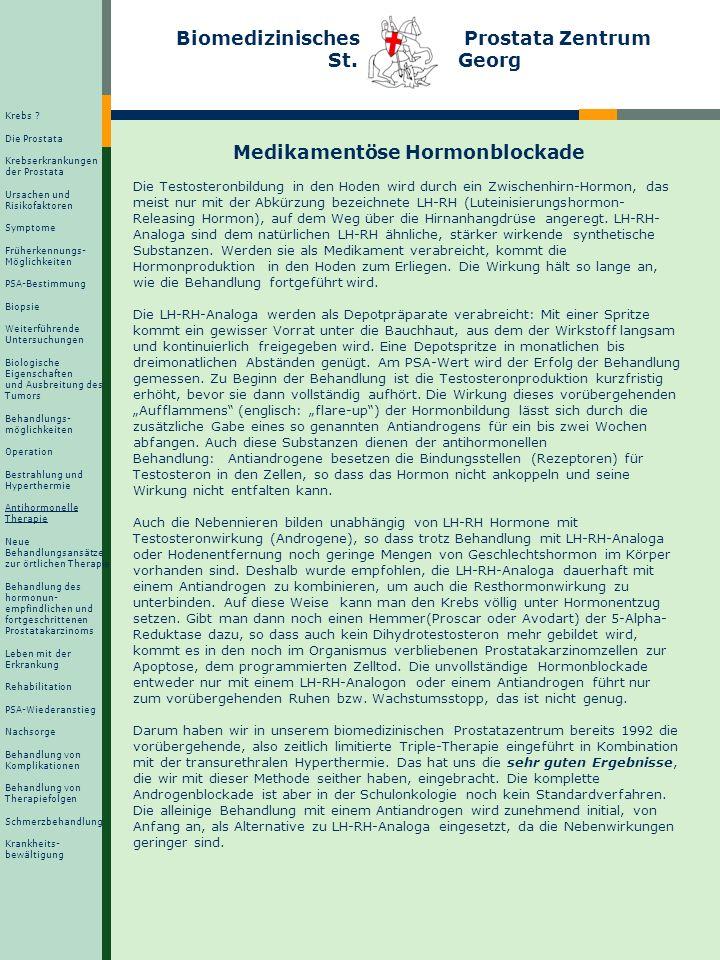 Grundlage für die Hormontherapie