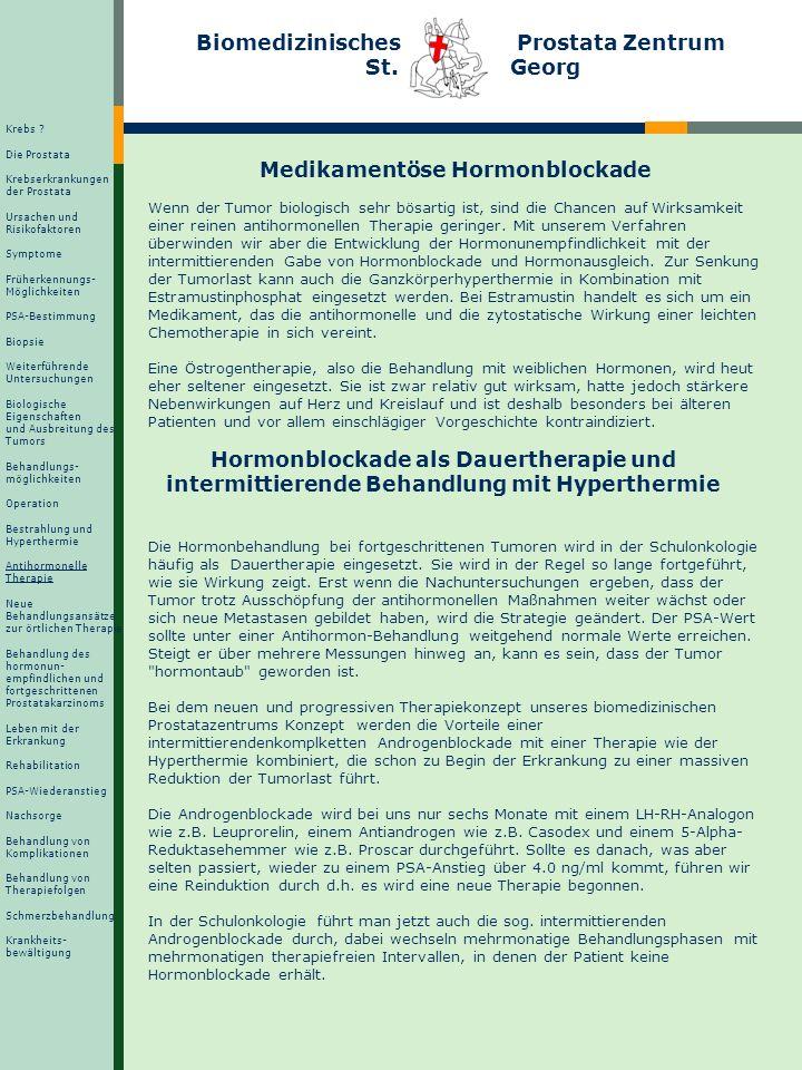 Medikamentöse Hormonblockade