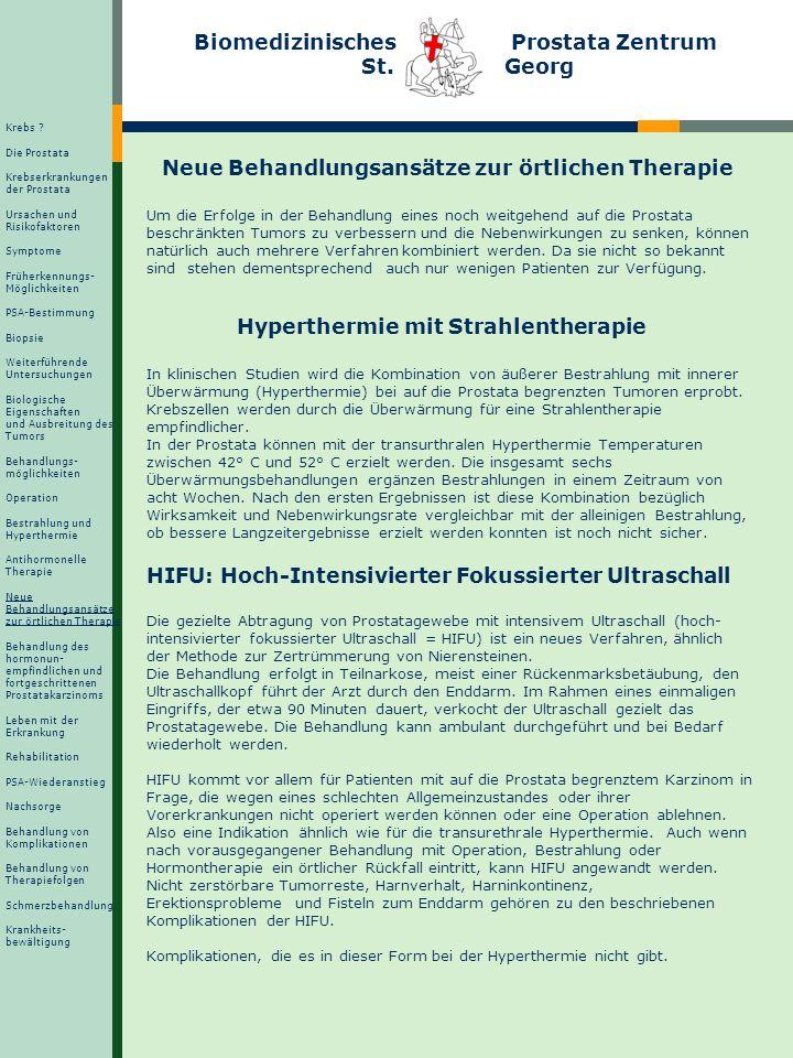 Unerwünschte Wirkungen der antihormonellen Therapie