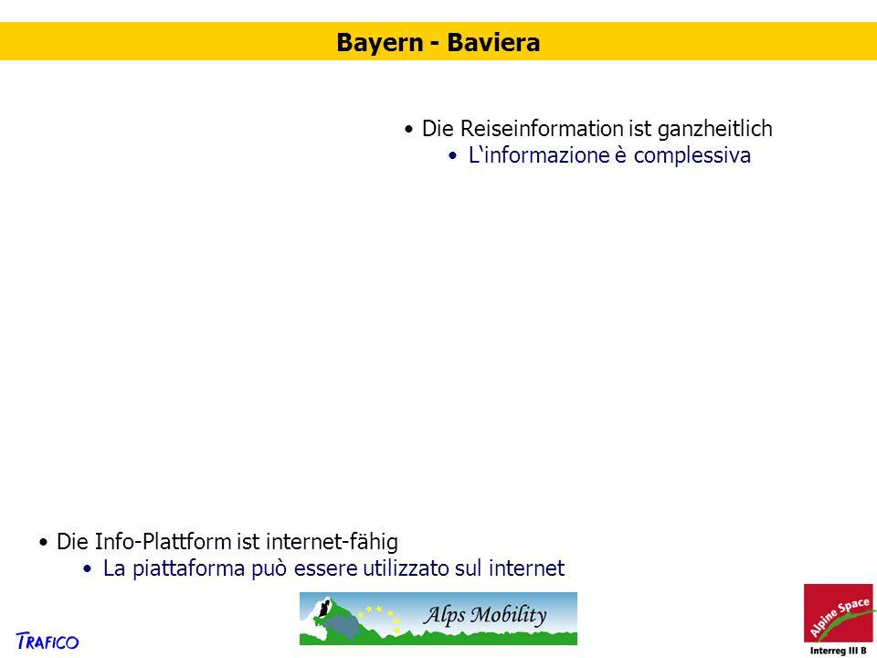 Bayern - Baviera Die Reiseinformation ist ganzheitlich
