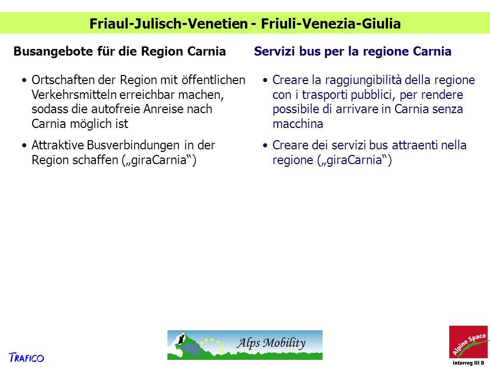Friaul-Julisch-Venetien - Friuli-Venezia-Giulia