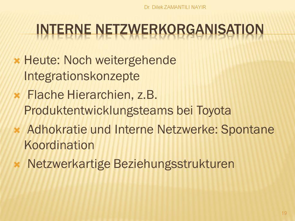 Interne Netzwerkorganisation