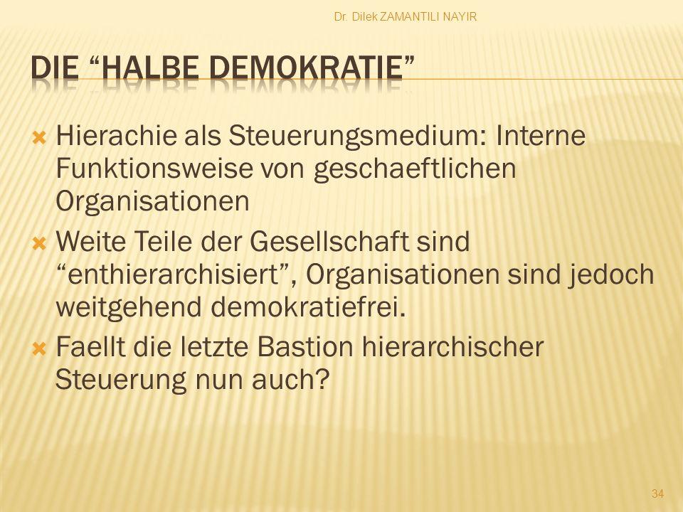 Die halbe Demokratie