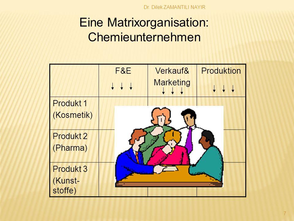 Eine Matrixorganisation: