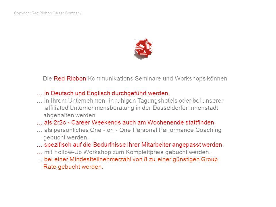 Copyright Red Ribbon Career Company
