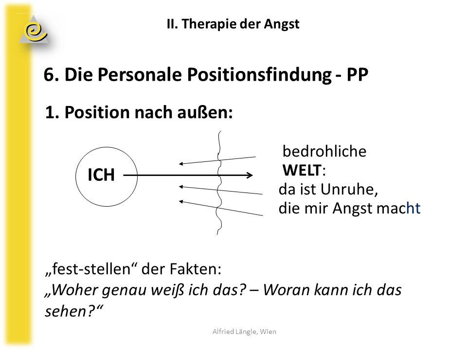6. Die Personale Positionsfindung - PP