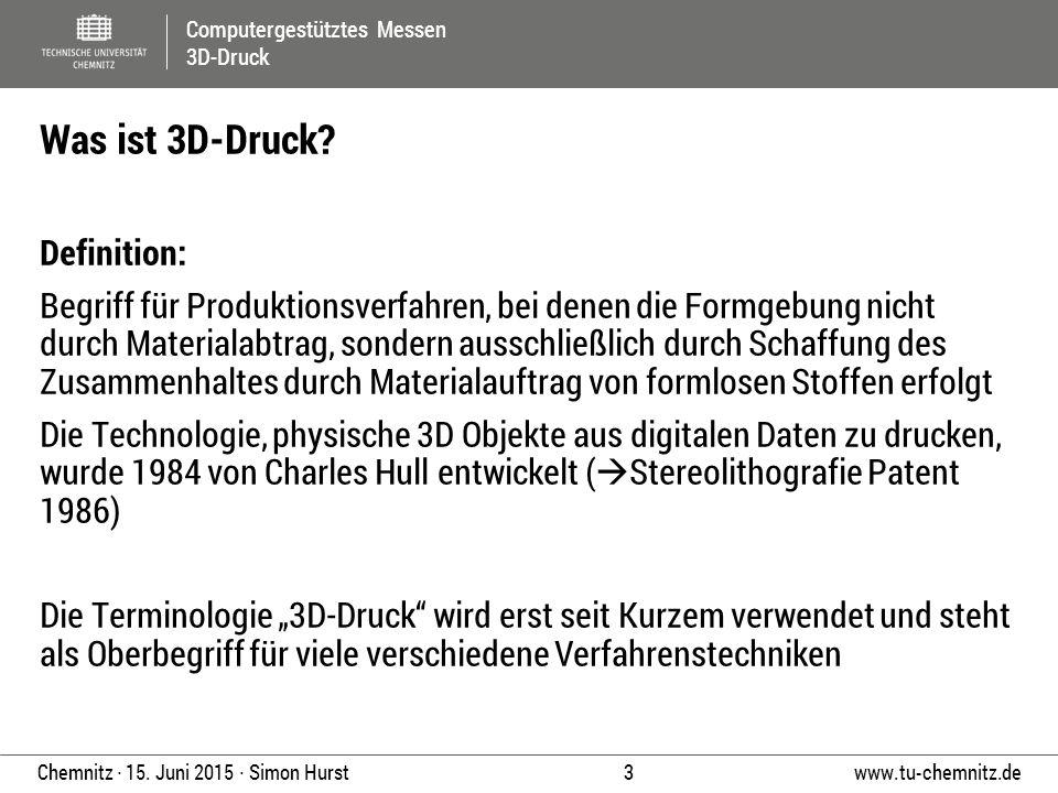 Was ist 3D-Druck Definition: