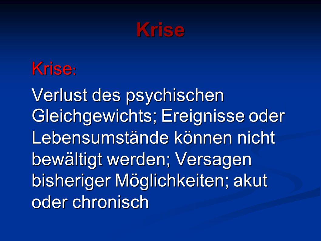 Krise Krise: