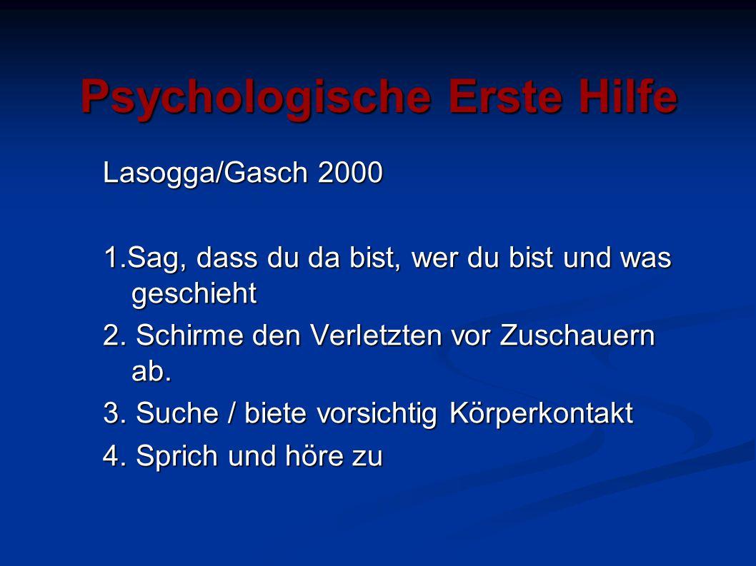Psychologische Erste Hilfe