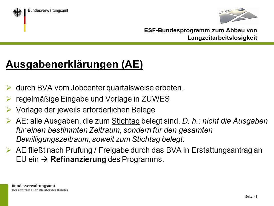 ESF-Bundesprogramm zum Abbau von Langzeitarbeitslosigkeit