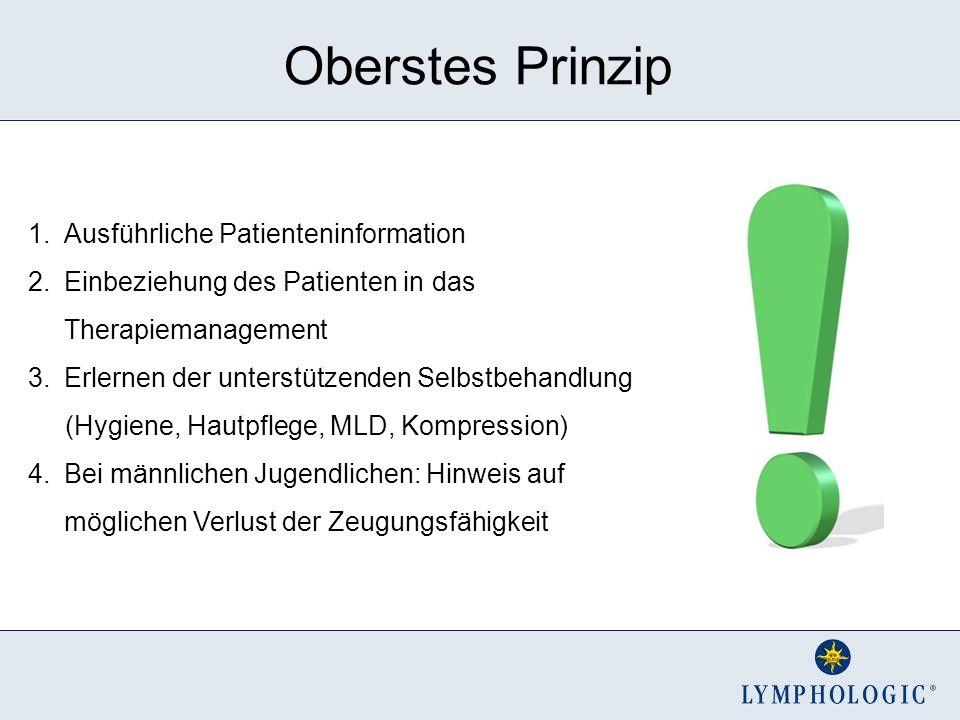 Oberstes Prinzip Ausführliche Patienteninformation