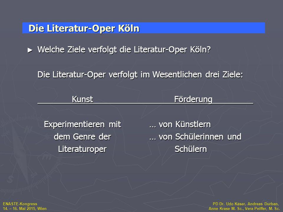 Die Literatur-Oper Köln