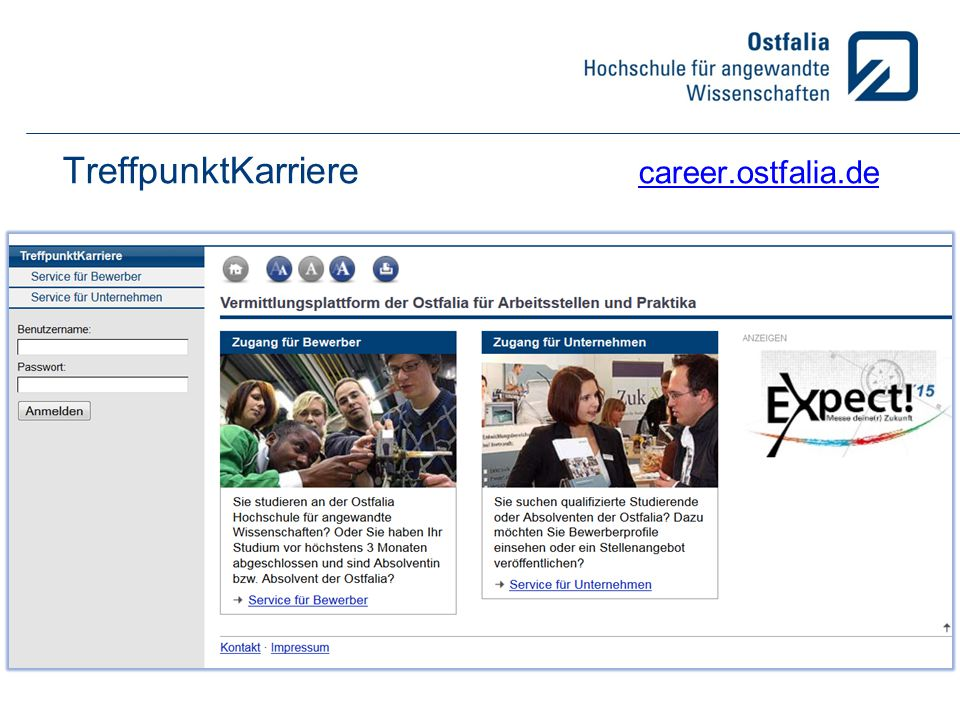 TreffpunktKarriere career.ostfalia.de