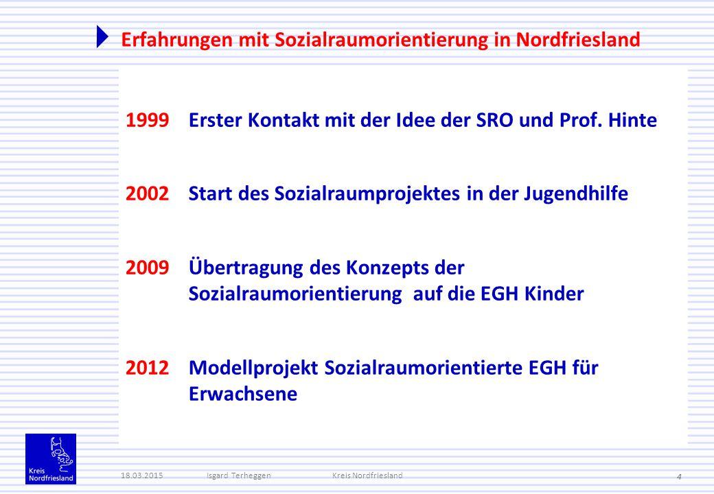 Erfahrungen mit Sozialraumorientierung in Nordfriesland